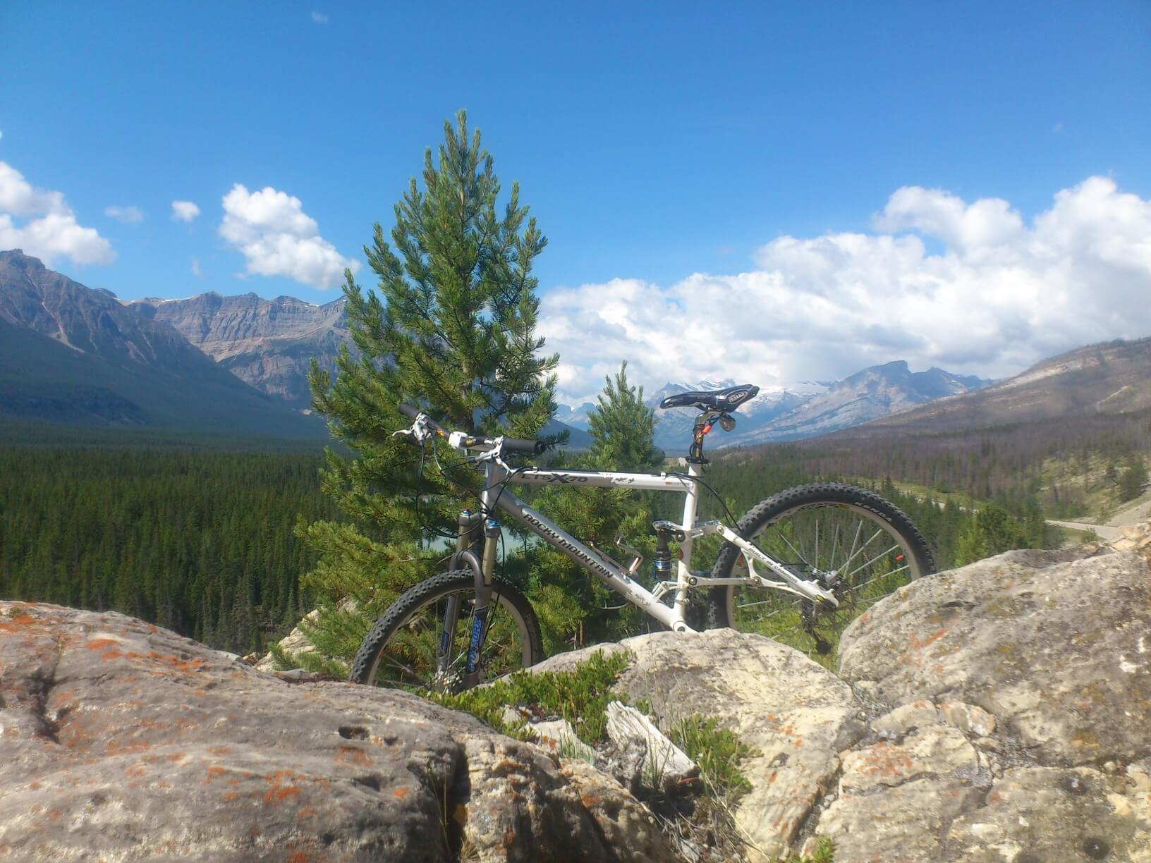 mountain biking nordegg alberta
